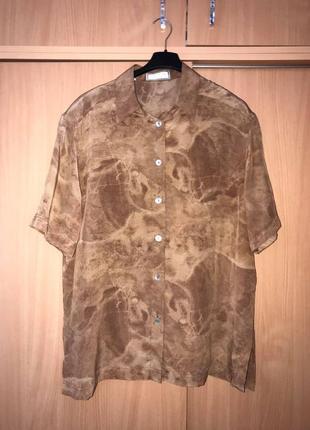 Touch of silk стильный шелковый блузон (cos zara max mara isabel marant sandro maje)