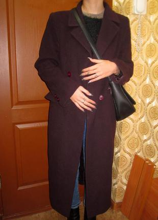 Пальто драповое осень зима marks & spencer