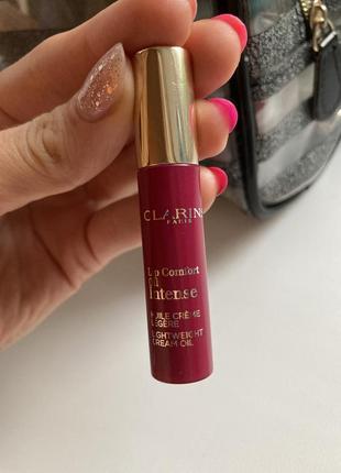 Бальзам clarins  05 intense pink lip oil comfort