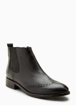 Кожаные ботинки челси next оригинал