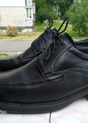 Туфли мужские кожаные claudio conti (германия) размер 43