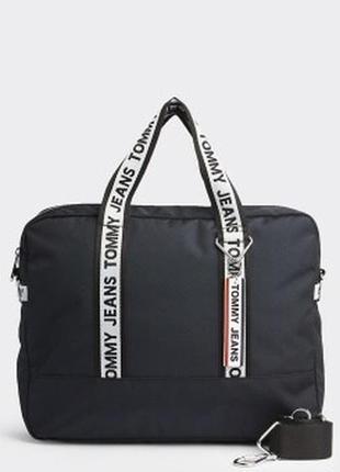 Чоловіча сумка для ноутбука tommi hilfiger tjm logo tape