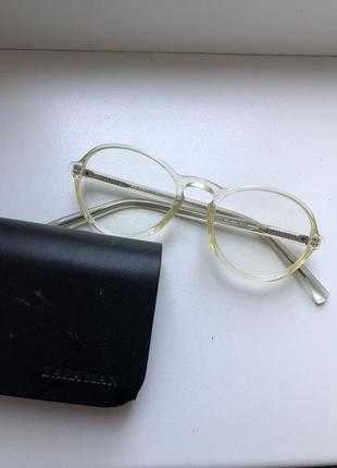 Zara man оправа очки имиджевые под замену стёкол