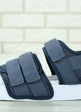 Босоніжки adidas adilette sandal gray боссоножки4 фото