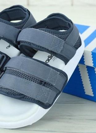 Босоніжки adidas adilette sandal gray боссоножки2 фото