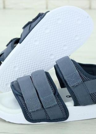 Босоніжки adidas adilette sandal gray боссоножки3 фото
