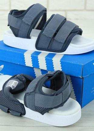 Босоніжки adidas adilette sandal gray боссоножки5 фото