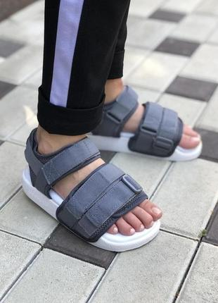 Босоніжки adidas adilette sandal gray боссоножки