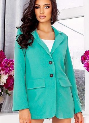 Пиджак 22632-4 ментоловый
