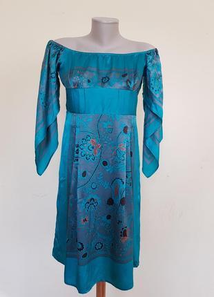 Красивое брендовое платье шёлк karen millen