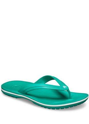 Вьетнамки crocs jibbitz crocband flip