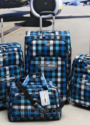 Качественные, очень легкие чемодан фирмы foxy-line