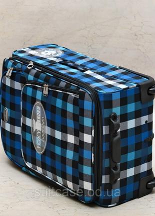 Качественные, очень легкие чемодан фирмы foxy-line6 фото