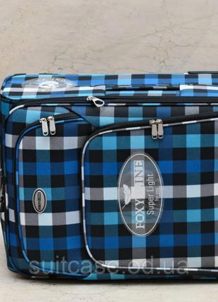 Качественные, очень легкие чемодан фирмы foxy-line7 фото