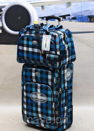 Качественные, очень легкие чемодан фирмы foxy-line2 фото