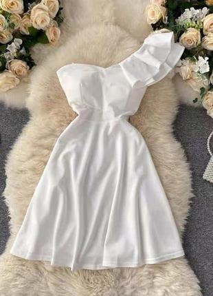 Платье, летнее платье, платье белое