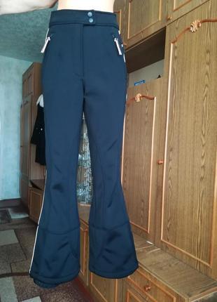 Штаны брюки лыжные с системой recco на флисе