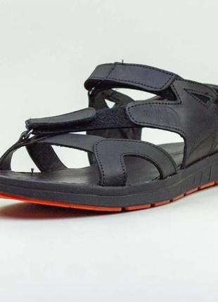 Сандали мужские кожаные merel multi-shoes черные