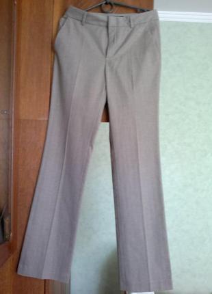 Брюки,штаны цвета пудры прямые zara basic.