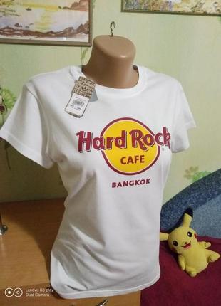 Hard rock cafe -футболка- коттон-m- - новая