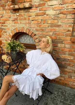 Платье 450 белое