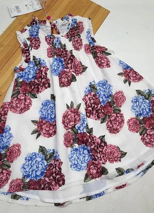 Платье в цветочки
