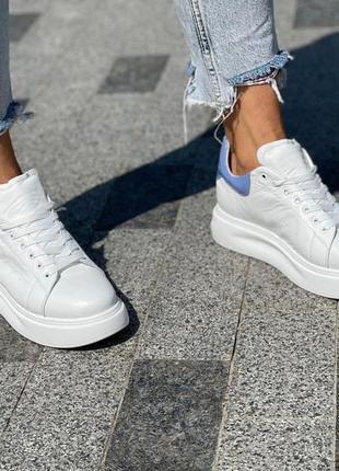 Белые кроссовки 34-41