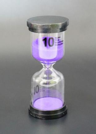 Песочные часы круг на 10 минут