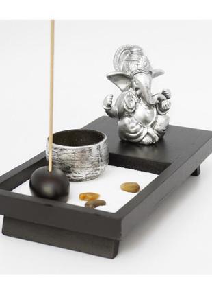 Сувенир настольный дзен набор сад камней ганеш