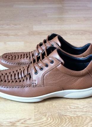 Новые кожаные туфли hotter англия 45 размера