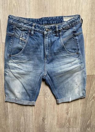 Diesel джинсовые шорты фирменные дизель