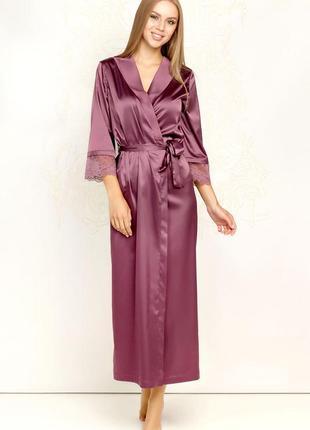 💝 ослепительный женственный длинный халат из сатина от *anabel arto*