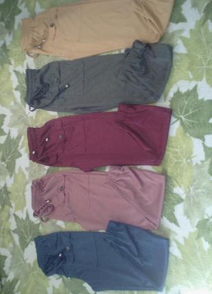 Спортивние штаны, брюки, женские джогеры, однотонный цвет новые. желтые, красные, синие, розовые, хаки турция