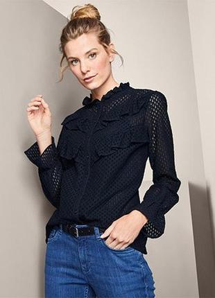 Якісна стильна блуза від tchibo (німеччина), р.: 48-50 (42 евро)