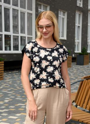 Женская трикотажная блуза