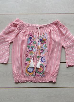 Блузка- вышивнка  женская
