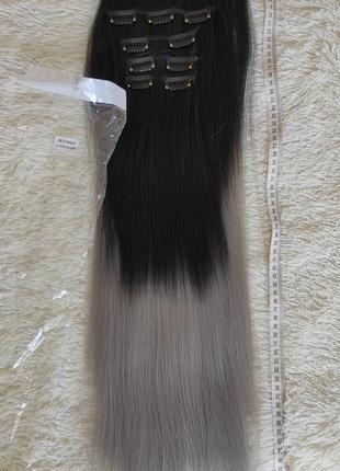 Искусственные волосы,трессы 6 шт на 16 клипсах