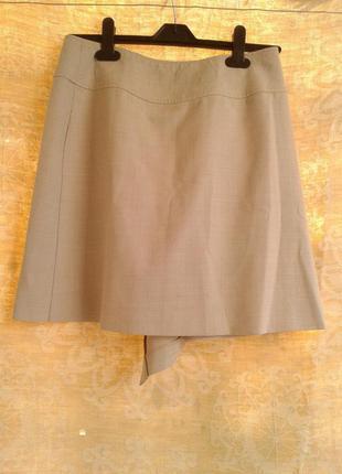 Вискозная юбка на запах, m3 фото