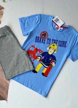 Костюм для хлопчика футболка шорти