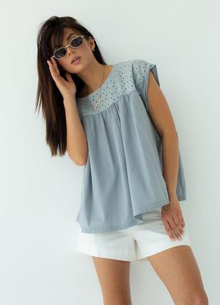 Ефектна красива вільна блуза, блузка оверсайз турция