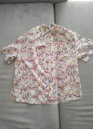 Пляжная рубашка , рубашка , разноцветная рубашка