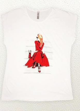 Женская футболка 50 размера