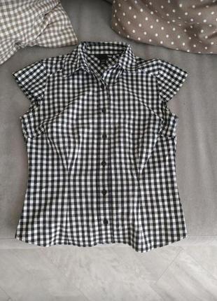Клечатая рубашка , рубашка  , рубашка h&m