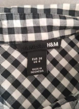 Клечатая рубашка , рубашка  , рубашка h&m2 фото