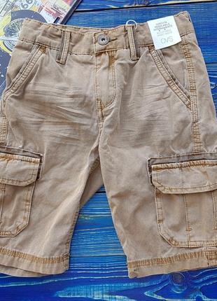 Стильные шорты для мальчика на 4-5 и 6-7 лет ovs италия