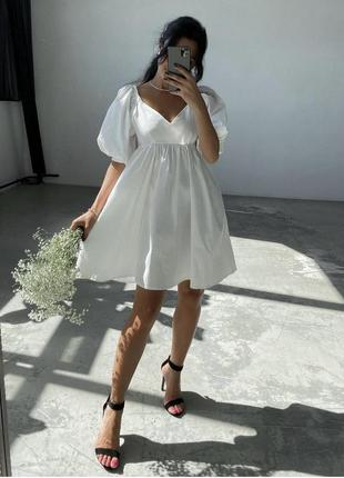 Платье baby doll в стиле zara