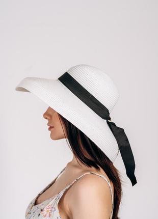 Шикарная летняя шляпа! осталась только в цвете капучино!
