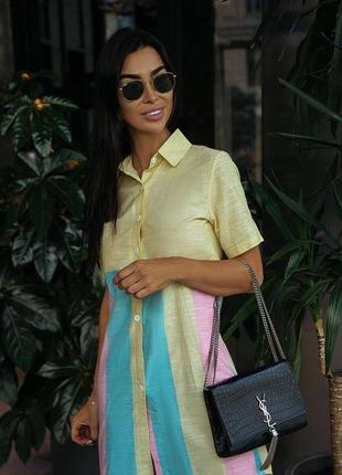 Рубашка платье туника