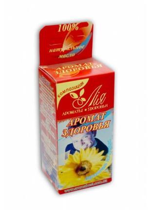 Эфирно-масляничная композиция аромат здоровья