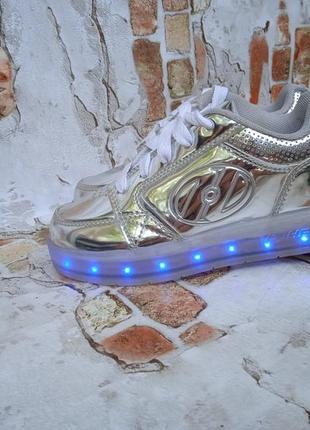 Светящиеся роликовые кроссовки heelys оригинал